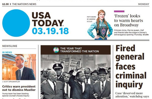 USA Today - 19 03 2018