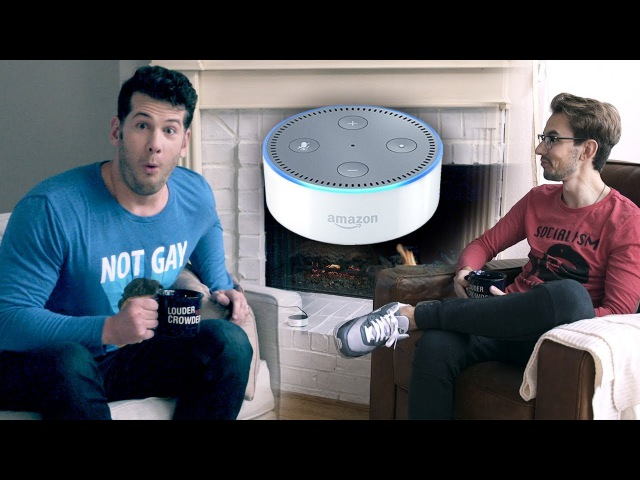Amazon's Alexa is a CRAZY SJW LIBERAL Louder With Crowder
