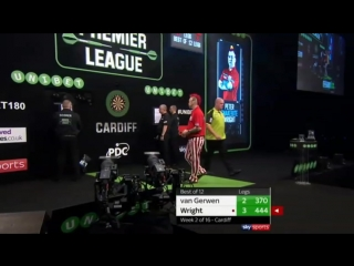 Michael van Gerwen vs Peter Wright (2018 Premier League Darts / Week 2)
