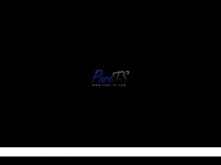 Russian shemale sex: sasha shatalova / русское порно с трансами: саша шаталова [pure-ts, cumshot, anal, blowjob, handjob, ladybo