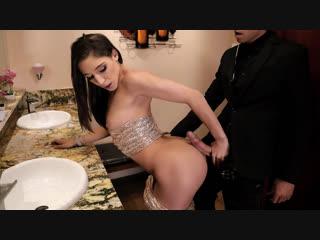 Abella danger (sneaking in the back door / ) [anal, athletic, brunette, bubble butt, caucasian, high heels]