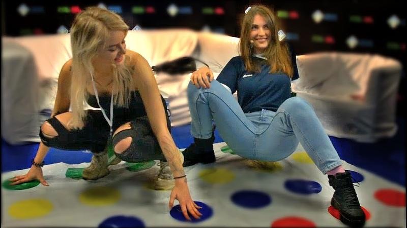 GTFOBAE и AhriNyan Играют в Твистер Game Planet 2018