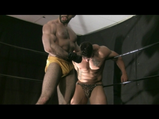 Muscle domination wrestling - muscle master kevin vs mutant