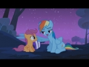 Rainbow Dash Takes Scootaloo Under Her Wing Sleepless in Ponyville - MLP- FiM HD