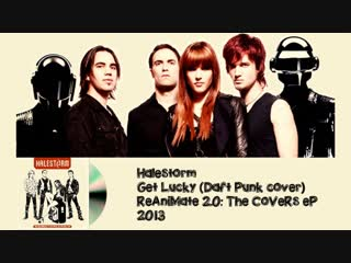 Halestorm get lucky (daft punk cover) (disubs live video)