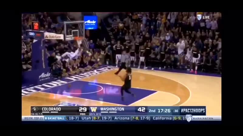 Matisse Thybulle with INCREDIBLE steal and speed finishes with slam dunk