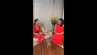 Priyanka Chopra Live on Teen Vogue Instagram