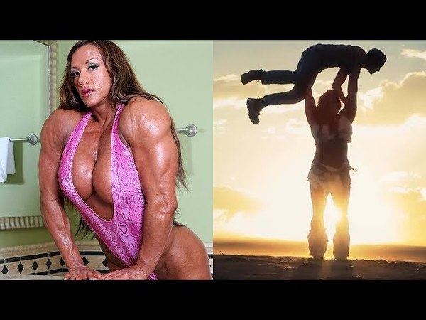 AMBER DELUCA professional strongwoman and female bodybuilder