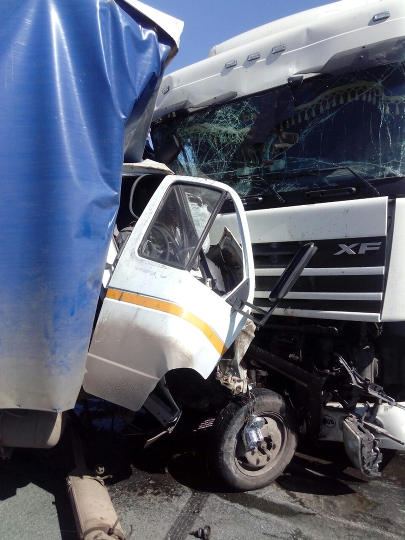 В Марий Эл на загородной трассе произошло смертельное ДТП с участием двух большегрузов