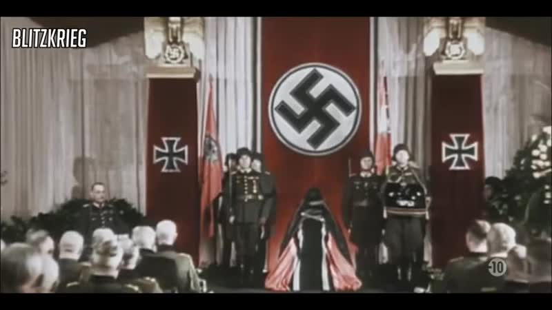 Funeral of Field Marshal Erwin Rommel HD Colour