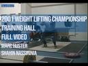 Jaber Wocky 2001 World Weight Lifting Championship Training Hall Full Video