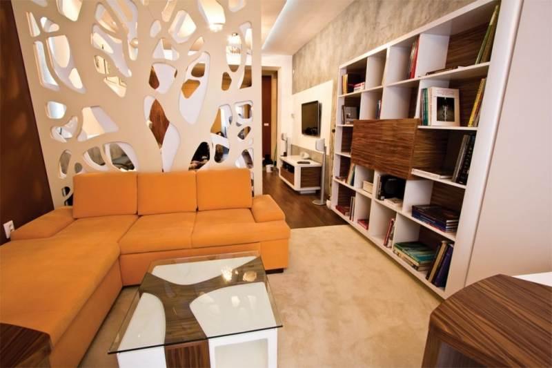 Как расставить мебель в длинной и узкой комнате, изображение №7