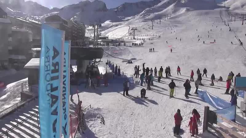 Андорра, горнолыжный курорт Гранд Валира, сектор Пас де ла Каса