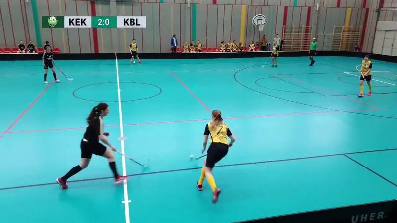 ELVI florbola līga: FK Ķekava - Ķekavas Bulldogs (10.03.2019)
