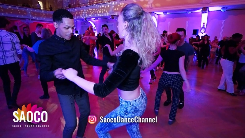 Charlie Garcia and Mell Rbell Salsa Dancing at Magic Slovenian Salsa Festival 2019, Sun 20.01.2019