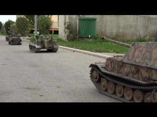 Scale RC Tanks Hausen am Bach 2016