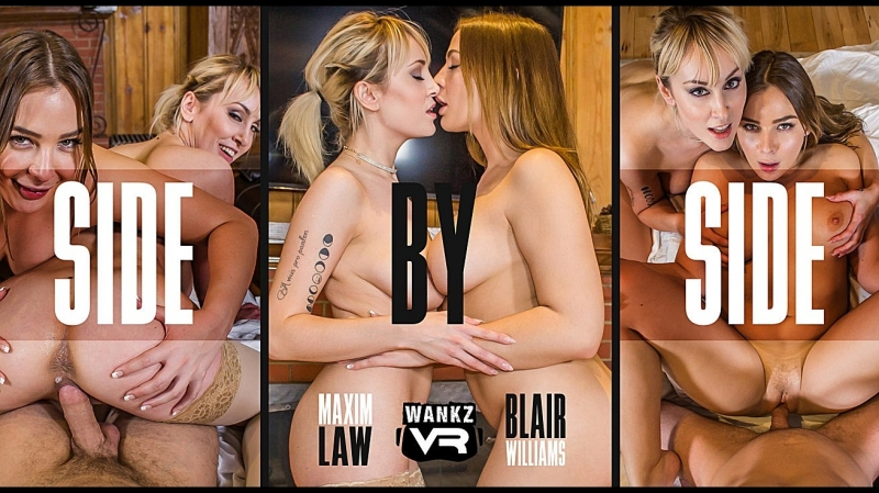 VRon Blair Williams Maxim Law ( Side by Side) 2018 г. , Virtual Reality, VR, 1080p Smartphone,