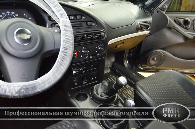 Шумоизоляция Chevrolet Niva, изображение №16