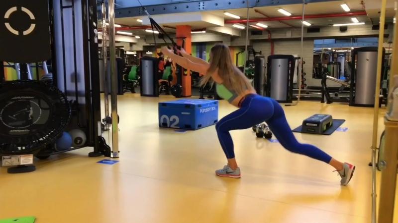 Тренировка от Анастасии Стригановой