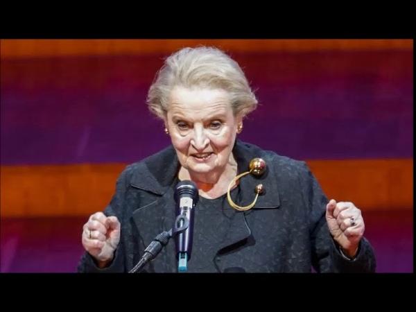 """""""Ste vojnový zločinec! Vraždili ste deti"""" kričali Albrightovej"""