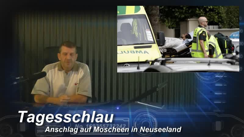 Neuseeland * Mehrere Tote * bei Angriff auf Moscheen