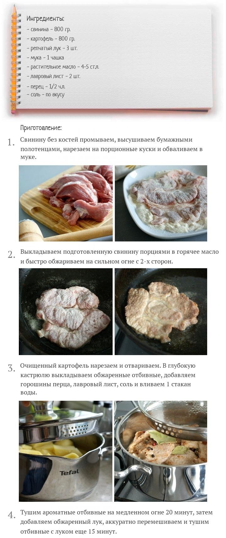 Отбивные из свинины в соусе, изображение №2