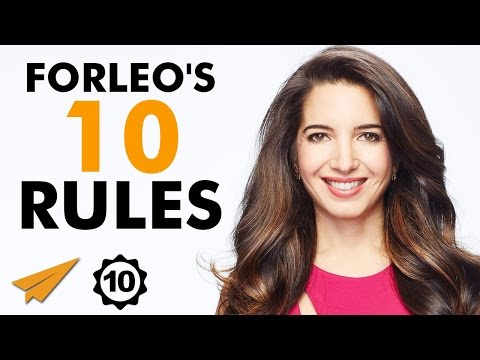 Marie Forleos Top 10 Rules For Success (@marieforleo)