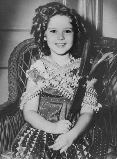 """Ширли Темпл - «Девочка-кукла». Самая юная обладательница премии """"Оскар""""., изображение №4"""