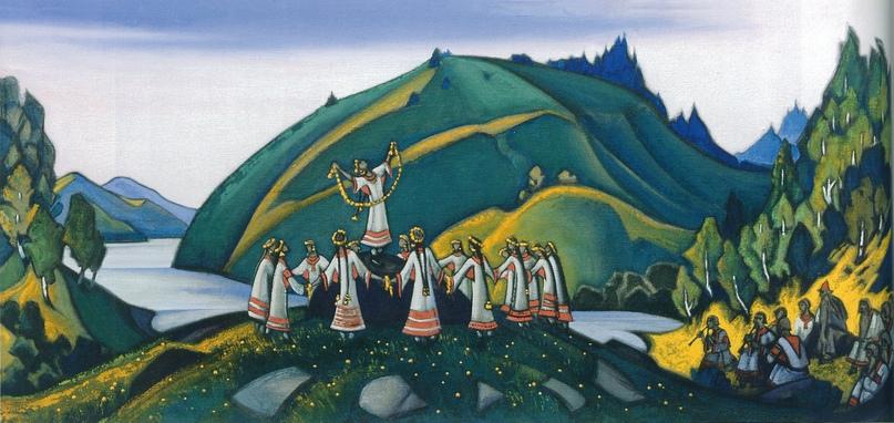 Н.К. Рерих Весна Священная. 1945