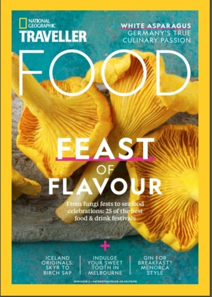National Geographic Traveller UK Food Issue 2 2018
