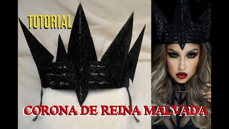TUTORIAL - 👑 CORONA de la REINA MALVADA / Evil Queen Crown tutorial | auroramakeup