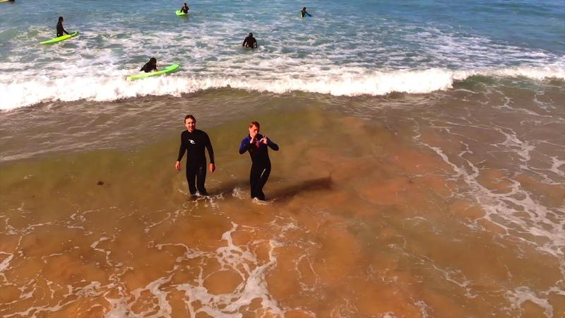 [4K] Atlantic Ocean cost - Peniche, Portugal