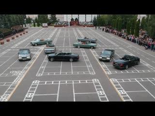 Аурус-вальс на плацу 147-й автомобильной базы Минобороны России в день ее 75-летия