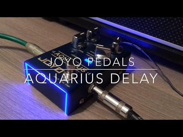Joyo Aquarius Delay Pedal Demo