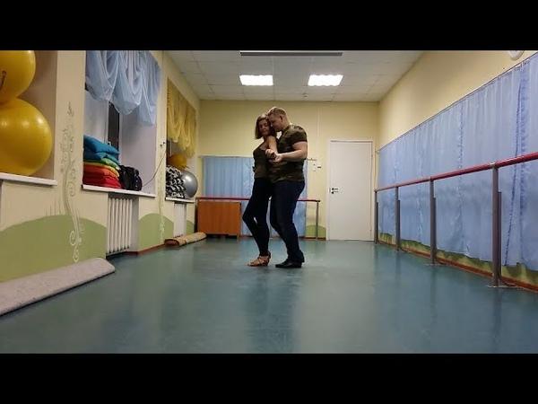 Bachata Moderna под Adicto Илья Вячеславов и Катя Пиир