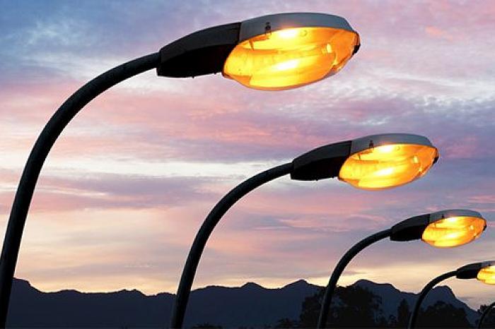 Типы уличных фонарей