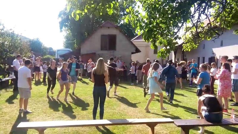 анс. Кралиця. Танці. Фестиваль м.Миява. Myjava 2017. Словаччина