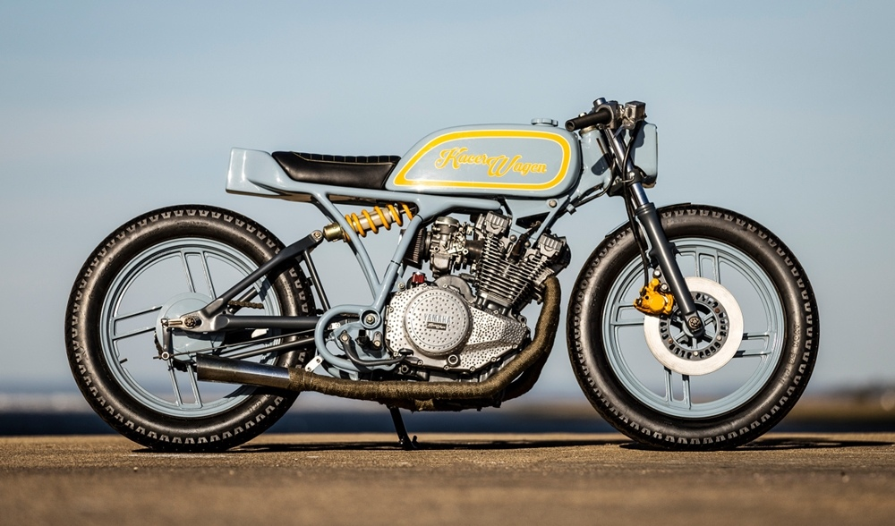 Kacerwagen: брэт-кастом Yamaha XS400