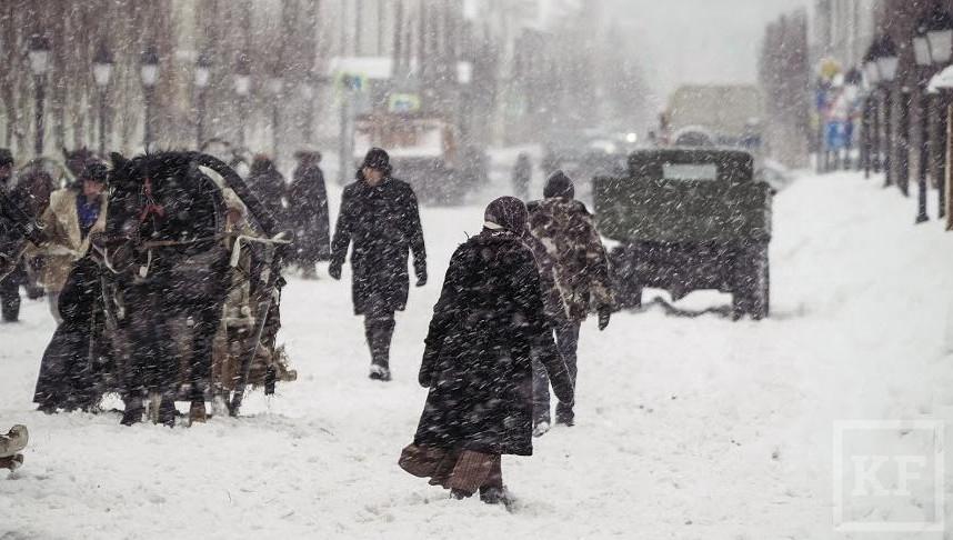 Татарстанцев предупредили о сильной метели