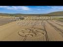 Crop Circle - Stanton Bernard - Reported 24th August 2019