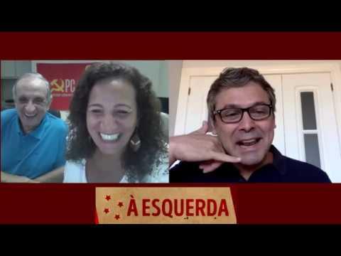 MEIO-DIA À ESQUERDA com Jandira Feghali e Bemvindo Sequeira