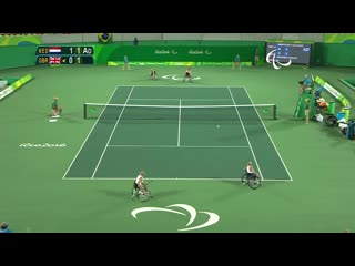 Rio 2016 Paralympic Games _ Wheelchair Tennis Day 5 _ LIVE