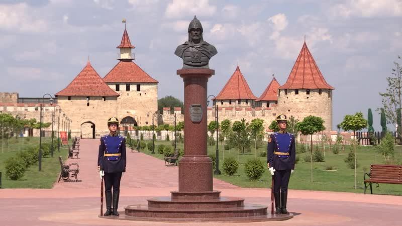 Приднестровье посетила российская делегация во главе с Министром обороны РФ генералом армии С. Шойгу.mp4