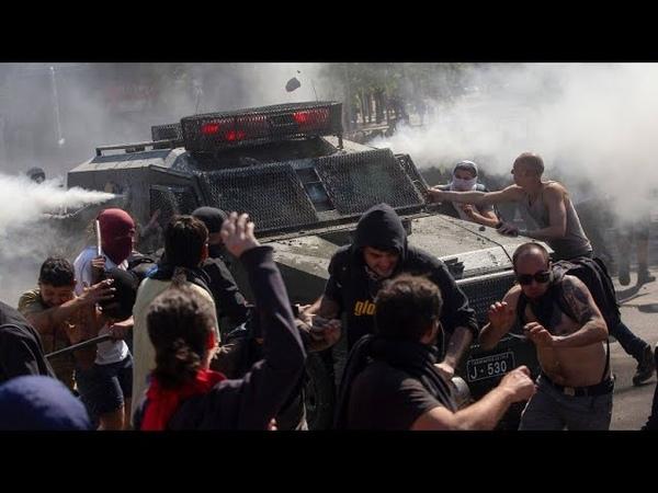 Proteste in Chile eskaliert mehrere Menschen sterben