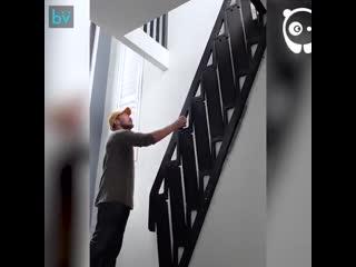 Лестница, которая может сэкономить много места