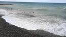 Дивноморское 4 августа. Опасное купание в шторм.
