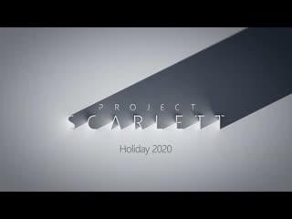 Xbox project scarlett — e3 2019 — reveal trailer