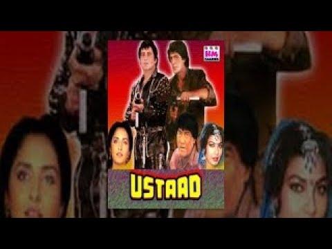 Ustaad 1989 Hindi Full Length Movie Vinod Khanna Jayaprada Asha Parekh Chunky Pande