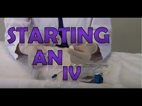 How to Set Up for an IV Intravenous | Nursing Clinical Skills