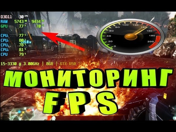 КАК ВКЛЮЧИТЬ НАСТРОИТЬ МОНИТОРИНГ FPS - MSI Afterburner